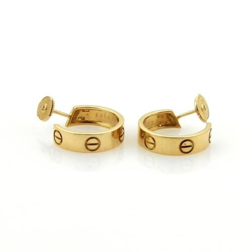 Cartier Earrings Up To 70 Off At Tradesy
