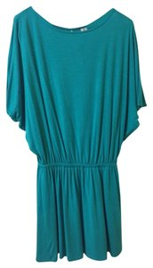 Michael Stars short dress Turquoise on Tradesy