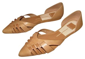 Dolce Vita D'orsay Pointed Toe Chic Tan Flats