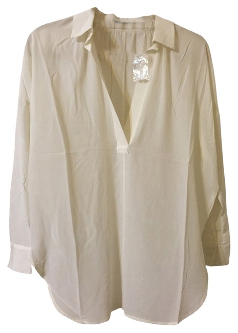 Preload https://item3.tradesy.com/images/ivory-blouse-size-2-xs-1656462-0-0.jpg?width=400&height=650