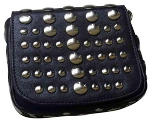Studs Silver Cross Body Bag
