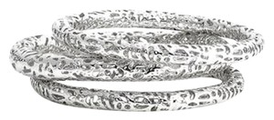 Kendra Scott Kendra Scott 'Lucca' Metal Bangle Bracelets in Rhodium