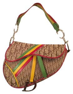 Dior Saddle Rasta Shoulder Bag