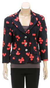 Moschino Black/Red Blazer
