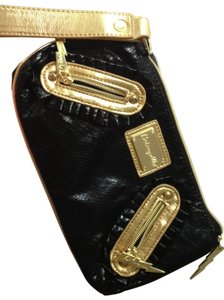 Betsey Johnson black Clutch