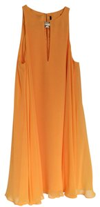 Marciano short dress Tangerine on Tradesy