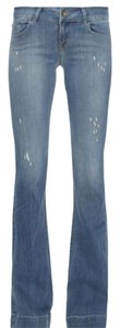 J Brand Love Story Flare Leg Jeans-Distressed