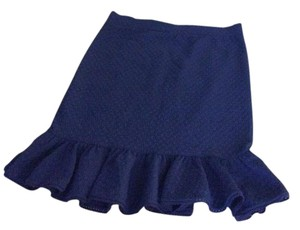 Anthropologie Skirt Cobalt Blue