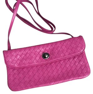 Bottega Veneta Pink! Pink Bottega Hot Pink Cross Body Bag