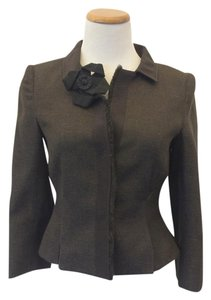 Alberta Ferretti Brown Jacket