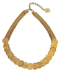 Chanel Chanel Dubai Runway Coin Necklace