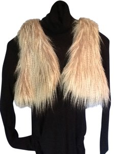 Esley Faux Fur Boho Short Vest