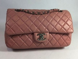 Chanel Lambskin Cf Medium Shoulder Bag