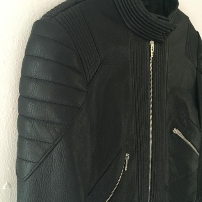 MCQ by Alexander McQueen Leather Jacket Image 3