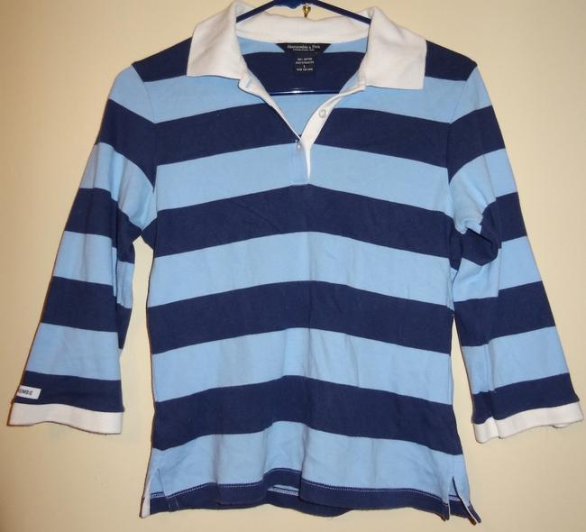 Preload https://item3.tradesy.com/images/abercrombie-and-fitch-light-dark-blue-button-down-top-size-12-l-165672-0-0.jpg?width=400&height=650