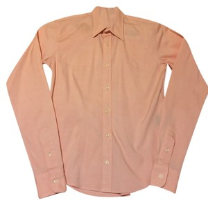 Ralph Lauren Button Down Shirt Light Orange