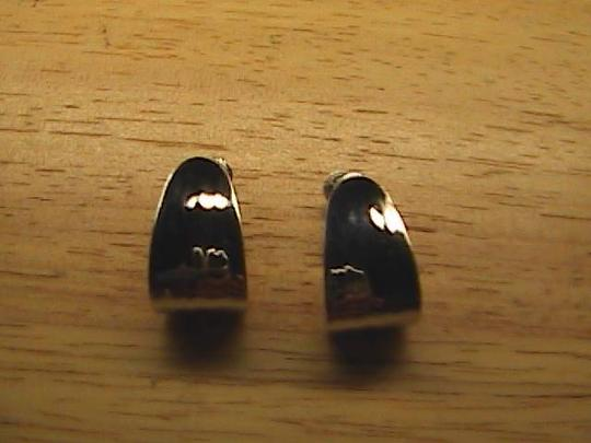 Vintage Authentic Napier Screw Backing Earrings
