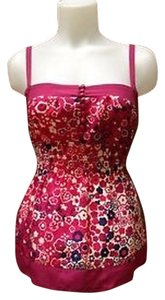 Odille Top Fuchsia/Floral
