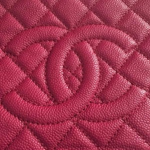Chanel Dark Pink Clutch