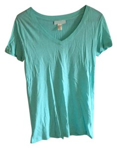 Forever 21 T Shirt Turquoise, light blue
