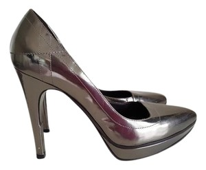 Hugo Boss Silver Pumps