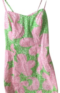 Lilly Pulitzer short dress Cheetah Limeade on Tradesy