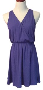 Lush short dress Blue/purple on Tradesy