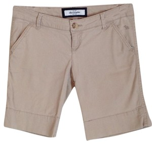 abercrombie kids Bermuda Shorts Tan