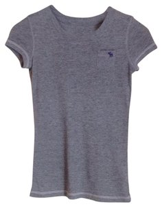 abercrombie kids T Shirt Gray