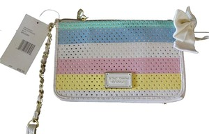 Betsey Johnson Multi Color Wallet Cross Body Bag