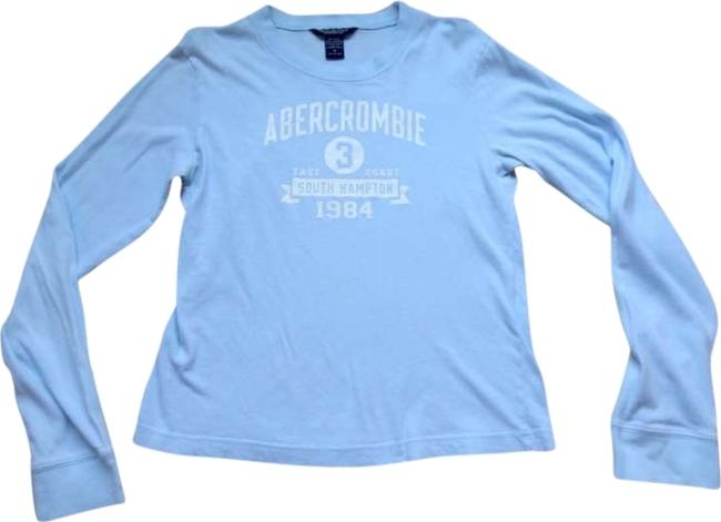 Preload https://img-static.tradesy.com/item/165701/abercrombie-and-fitch-light-blue-tee-shirt-size-8-m-0-0-650-650.jpg