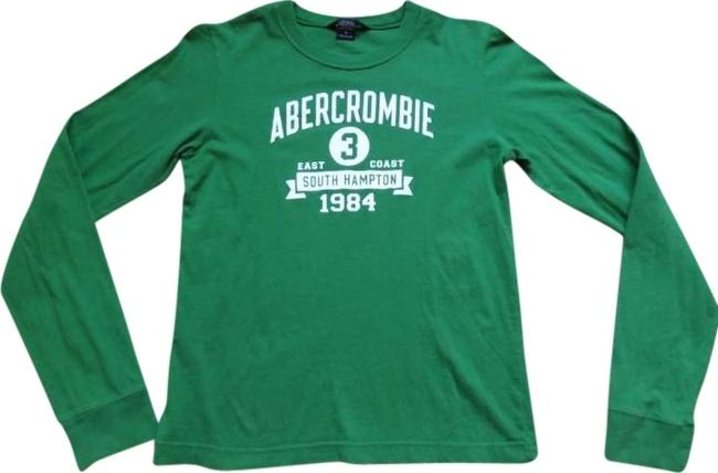 Preload https://item3.tradesy.com/images/abercrombie-and-fitch-green-tee-shirt-size-8-m-165702-0-0.jpg?width=400&height=650