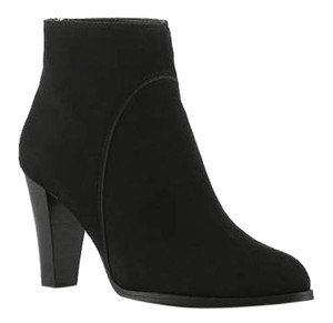 Adrienne Vittadini Pointed Toe Boot Bootie BLACK SUEDE Boots
