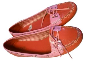 Coach pink coral Flats