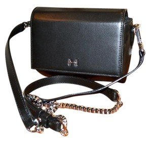 Halston Satchel Mini Chain Miniaudiere Cross Body Bag
