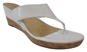 Antonio Melani Cork White Wedges