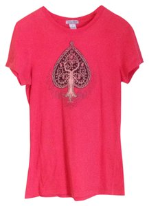 Lucky Brand T Shirt Red