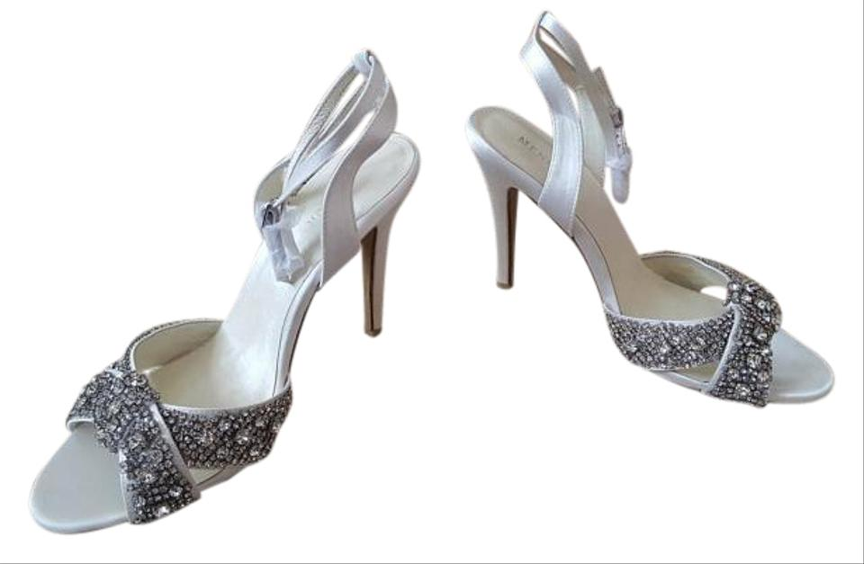 new arrival a8a06 5ade9 Ivory Satin Alex Formal Shoes