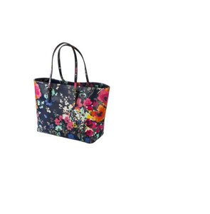 Merona Tote in BLUE NAVY FLORAL