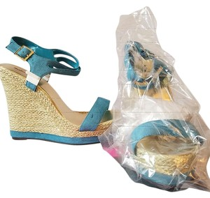 Michael Antonio Turquoise Sandals