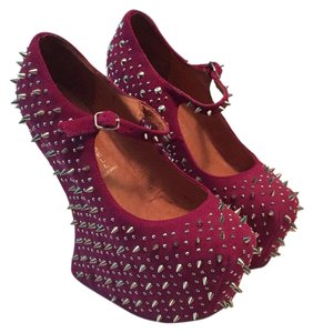 Jeffrey Campbell Raspberry Platforms