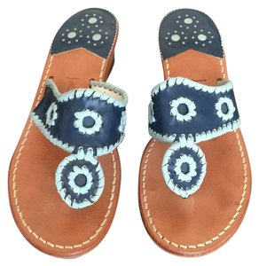 Jack Rogers Navy blue/light blue Sandals