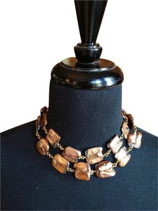 Stephen Dweck Rare Authentic Double Strand Stephen Dweck Freshwater Pearl Necklace