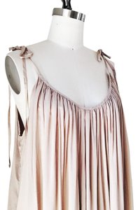Riller & Fount short dress Beige Flowy Summer Full Drape Pockets on Tradesy