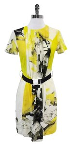Christopher Kane short dress Floral Silk Belted on Tradesy