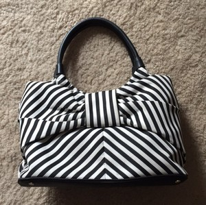 Kate Spade Satchel in Ivory And Black