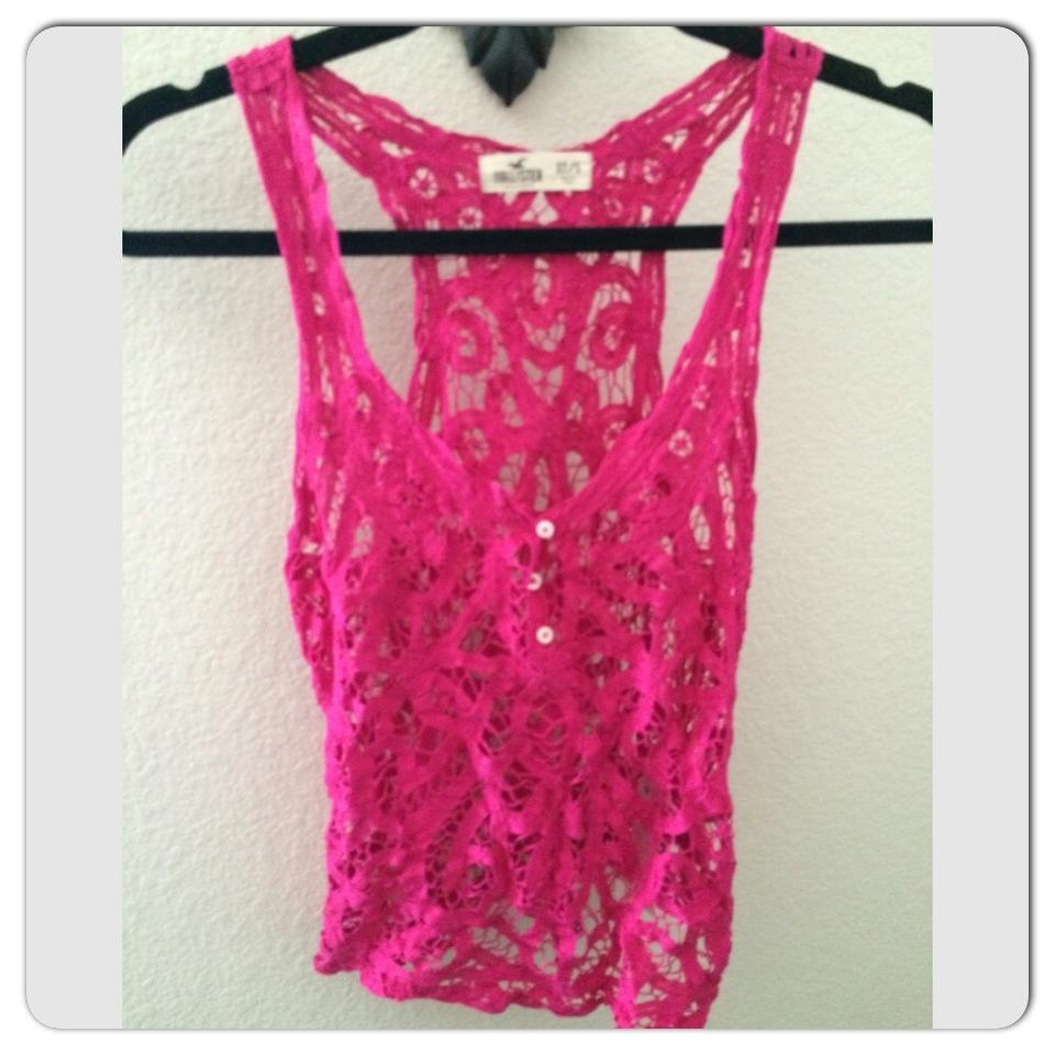 40df0be8e8a6a6 Hollister Hot Pink Tank Top Cami Size 2 (XS) - Tradesy