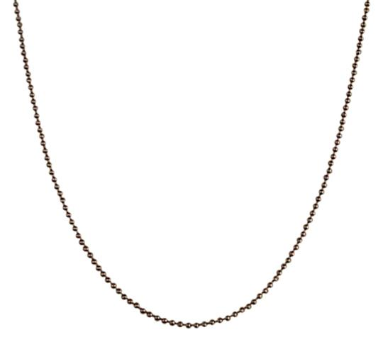 Vintage Sterling Silver Gold- Tone Ball Style Chain