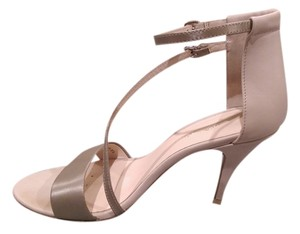 3.1 Phillip Lim Leather Brushed Metallic Champagne Sandals