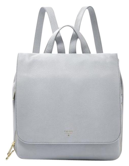 Item - Preston Baby Blue Leather Backpack